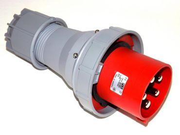 125 A Stecker 5p 6h PCE 545-6 125A CEE Wandgerätestecker IP66 IP67 5-polig