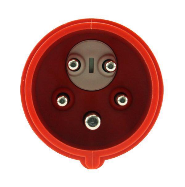 SET CEE Kupplung und Phasenwender 16A 5-polig 6h 400 V Starkstrom PCE Stecker