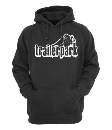 Trailerpark Hoody Logo schwarz