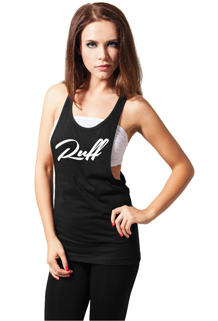Ruffiction Ladies Loose Tank Ruff Schwarz 30 Shop
