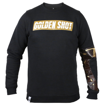 White Rabbit Golden Shot Sweater schwarz