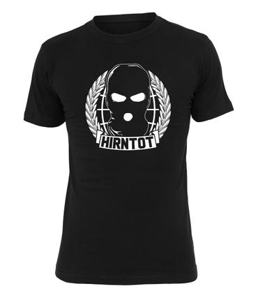 Hirntot Records T-Shirt World Domination