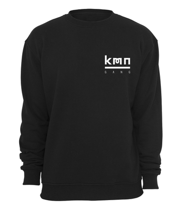 KMN Gang Sweater Logo Brust schwarz