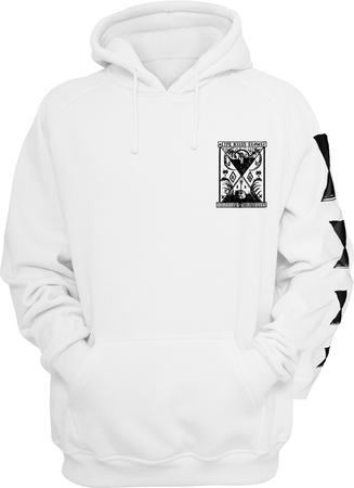 Life Kills Slowly Hoody white