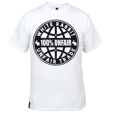 White Rabbit 100% Unfair Trade Shirt – Bild 1