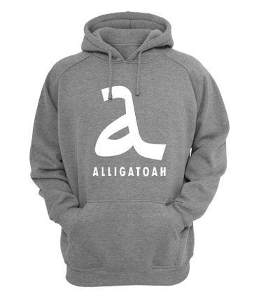 Kleidung & Accessoires Alligatoah Sweater Logo Brust Musik