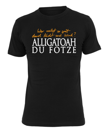 Alligatoah T-Shirt Erlkönig