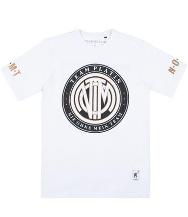 Team Platin T-Shirt weiss – Bild 1
