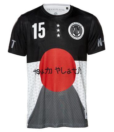 Team Platin Trikot Tokyo – Bild 1