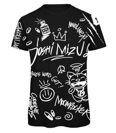Joshi Mizu T-Shirt All Over schwarz