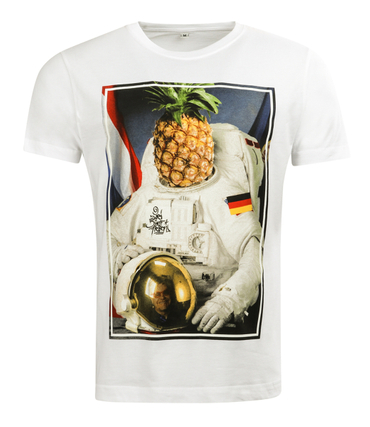 257ers T-Shirt Captain Spaceapple