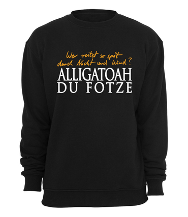 Alligatoah Sweater Erlkönig