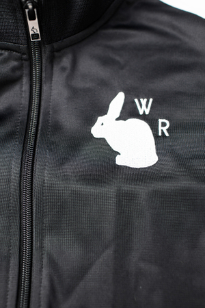 White Rabbit Trainingsjacke schwarz – Bild 4