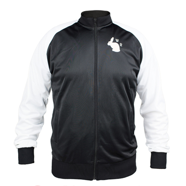 White Rabbit Trainingsjacke schwarz – Bild 1