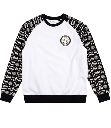 Team Platin Typo Sweater  – Bild 1