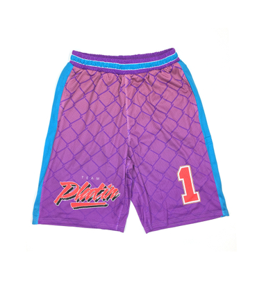 Team Platin Shorts lila