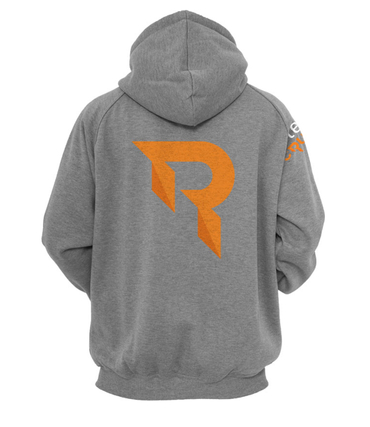 Raise your Edge Hoody grau