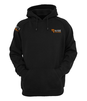 Raise your Edge Hoody schwarz