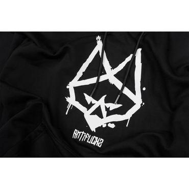 Antifuchs Hoody Logo schwarz