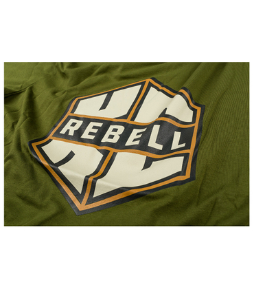 KC Rebell T-Shirt Logo olive