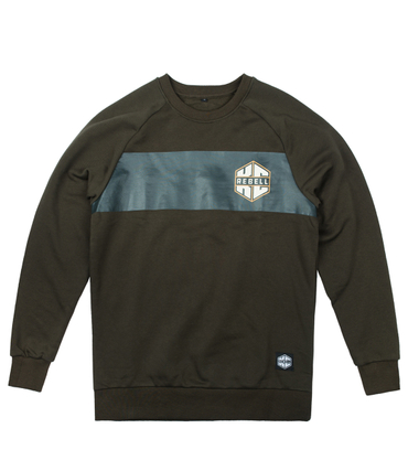 KC Rebell Sweater Logo Brust