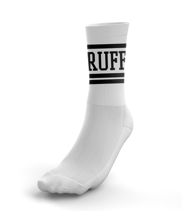 Ruffiction Tennissocken RUFF Weiss
