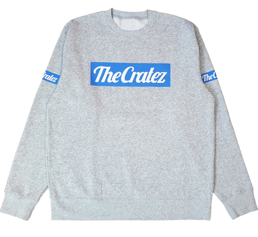 The Cratez Logo Sweater grau
