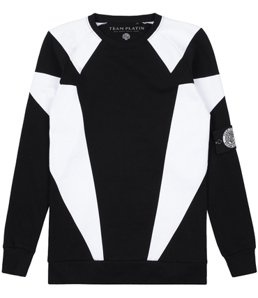 Team Platin Sweater Diamond Schwarz