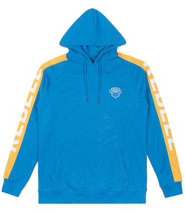 Rebell Army Stripe Hoody Blue