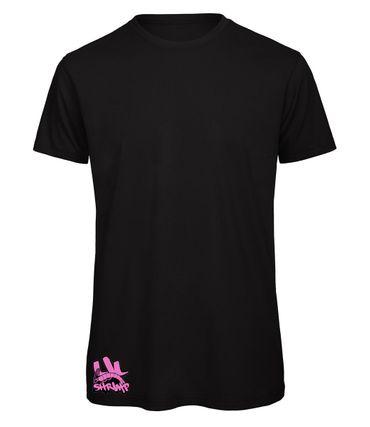 Lil Shrimp T-Shirt Purple Logo schwarz