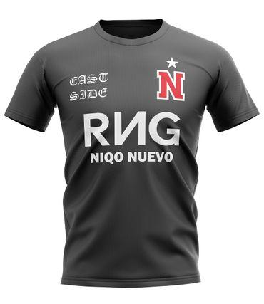 Niqo Nuevo Trikot Chile schwarz