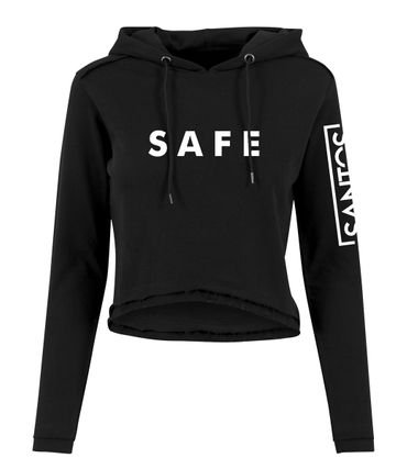 Nico Santos Ladies Crop Hoody Safe