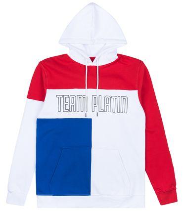 Team Platin Tricolor Hoodie