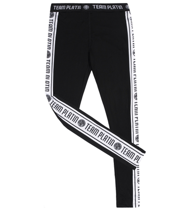 Team Platin Leggings schwarz