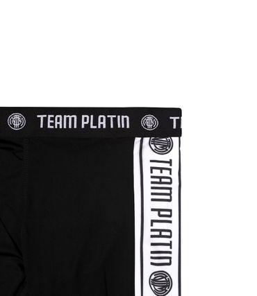 Team Platin Leggings schwarz – Bild 2