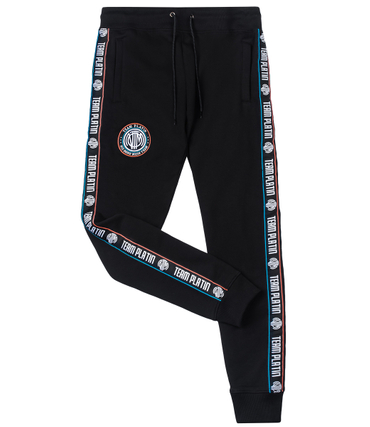 Team Platin Logo-AOP Shorts black