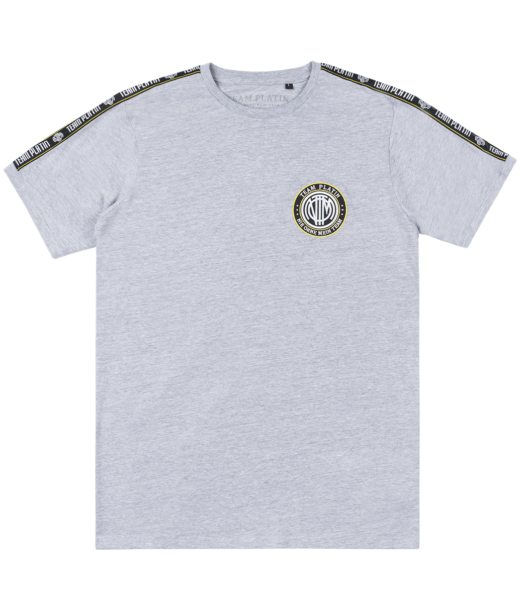 Team Platin Classic Stripe Shirt NeonGrey   Official Team Platin Site Athletic Streetwear & Urban Fashion #PlatinSeason