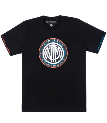 Team Platin Classic Logo Shirt Neon/Black