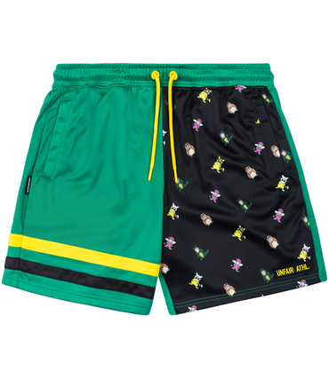 Trailerpark X Unfair Athletics Shorts grün