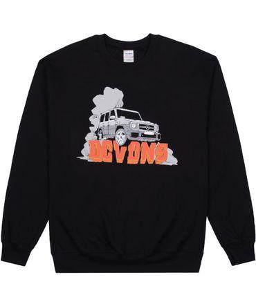 DCVDNS Sweater G-Class Logo schwarz