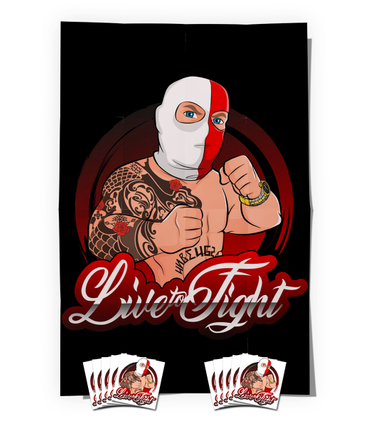 "Came ""Live To Fight"" Supporter Bundle"