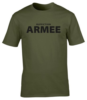 Ruffiction T-Shirt ARMEE olivgrün
