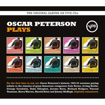 Oscar Peterson - Oscar Peterson Plays (Box-Set)
