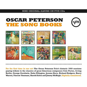 Oscar Peterson - The Song Books (Box-Set)