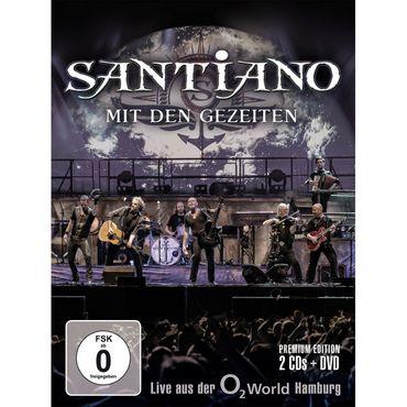Santiano - Mit den Gezeiten - Live aus Hamburg (Ltd. CD+DVD)
