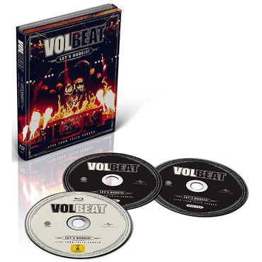 Volbeat - Let's Boogie! Live from Telia Parken (2CD + BD)