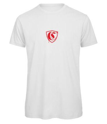 Came T-Shirt Sport Frei weiß