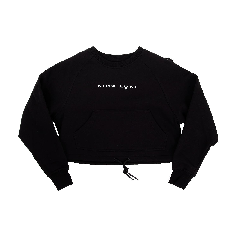 LOREDANA Sweatshirt oversize cropped