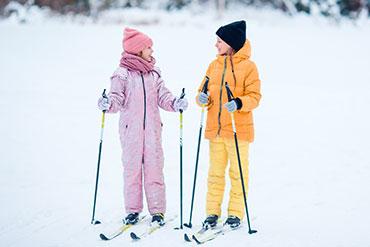 Skijacken Kinder