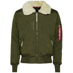 Alpha Industries Injector III Bomberjacke Herren dark green